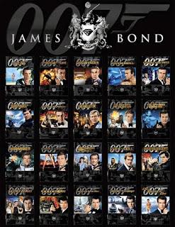 Coleção 007 James Bond Completo