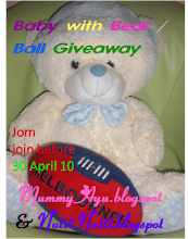 """BABY WITH BEAR/BALL GIVEAWAY"""