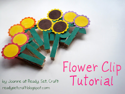 Flower Cup Tutorial – Guest Post by Joanne at Ready, Set, Craft!