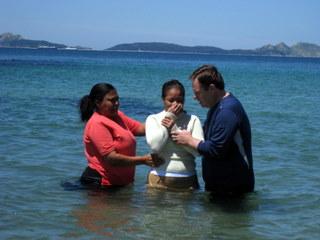 Julia baptism 2