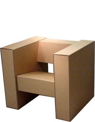 Fancy Soup Cardboard Furniture