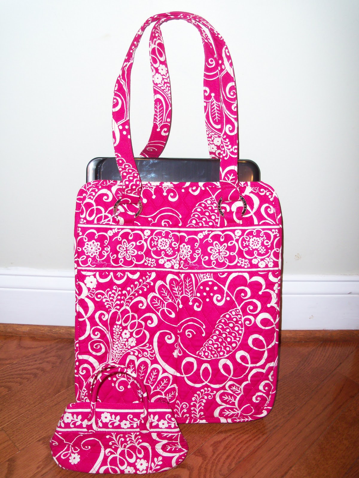 Review: Vera Bradley Twirly Birds Pink Bags Give Back