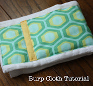 World's Easiest Burp Cloth Tutorial