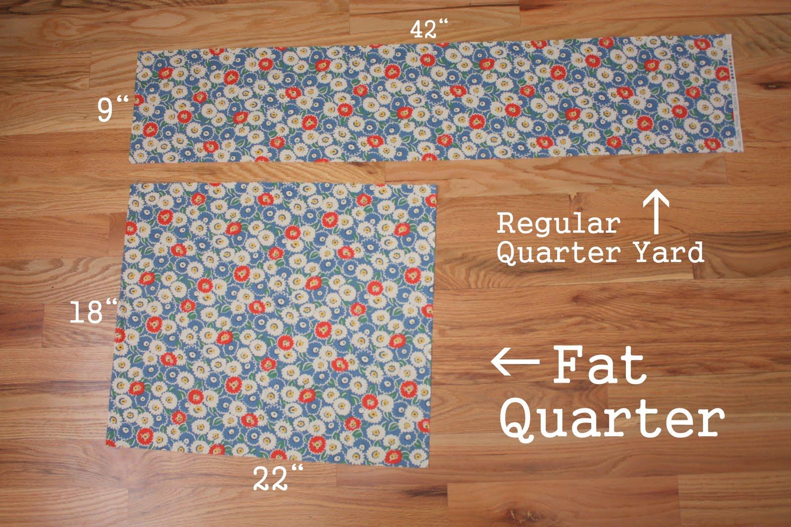 Fat Quarter Of Fabric 113
