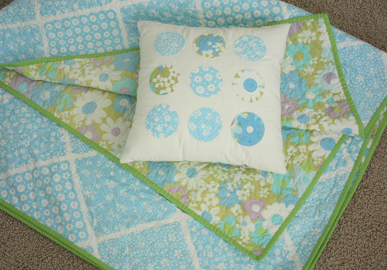 Vintage Sheet Projects - Diary of a Quilter - a quilt blog : sheet quilt - Adamdwight.com