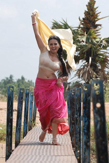 sana khan latest hot exposing spicy saree stills