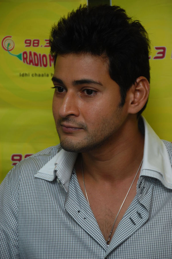 Mahesh Babu - Cute and Handsome at Khaleja Audio Release Function