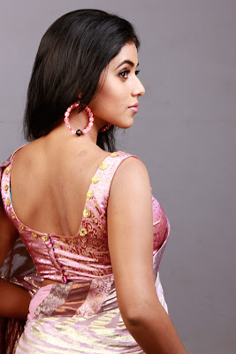 poorna saree photoshots! Na wallpapers