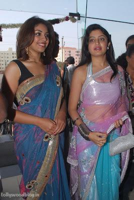 Photos Poonam Richa Hot Stills  Kalamandhir Nagavalli Collections Launch gallery