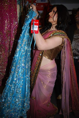 Zarine Khan at Veer Libas Collection launch