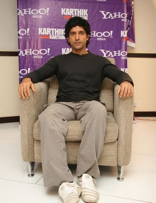 Farhan Akhtar at Yahoo KCK
