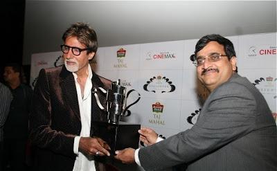 Amitabh Bachchan Recieves Taj Tareef Award