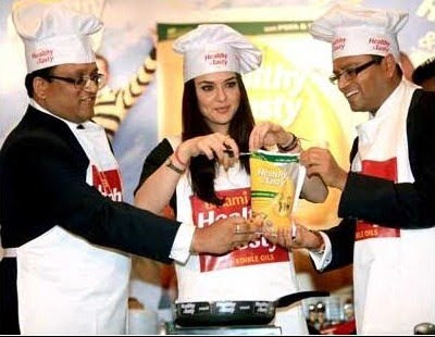 Preity Zinta at Emami Promotional Event