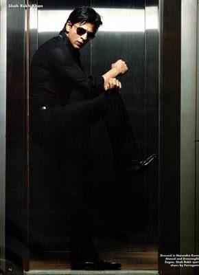 Shah Rukh Khan on OK Magazine