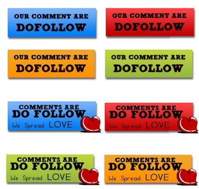 Free Dofollow Badges