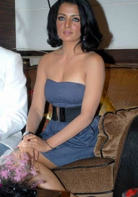 Celina Jaitley at Accident at Hill Road film Event