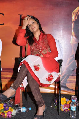 Reema Sen at Aayirathil Oruvan Movie Trailer launch