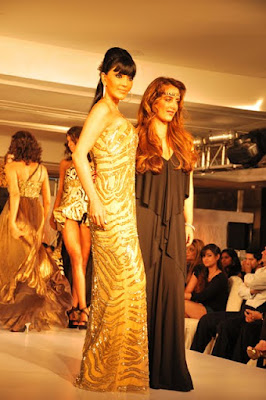 Koena Mitra at Chennai International Fashion Week