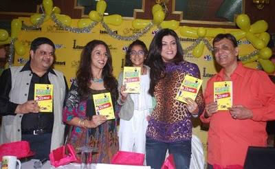 Sushmita Sen at Shobha De's book S' Secret launch