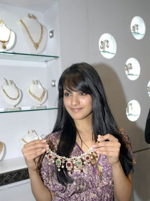 Anitha At Nysa Jewellery Launch