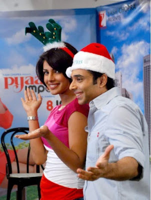 Priyanka Chopra at Pyaar Impossible Christmas PhotoShoot