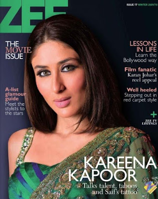 Kareena Kapoor on ZEE Maganize