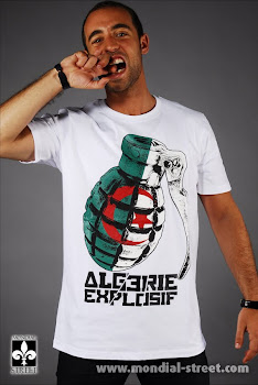 T-SHIRT ALGERIE EXPLOSIF MAGHREB UNITED by http://WWW.MONDIAL-STREET.COM