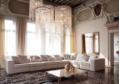 Luxurious Living Room Interior Design