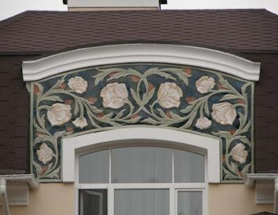 Artistic Hand Made Caramic Rusian House