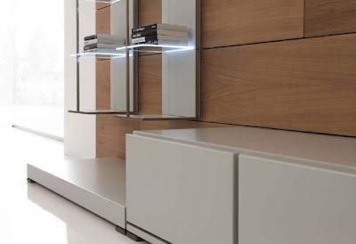 Modern Minimalist Living Room Design by MobilFresno