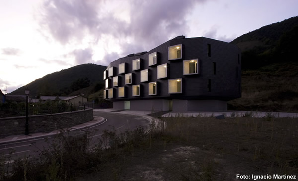Social Housing, Zon-e Arquitectos, Degana Social Housing, House Design,