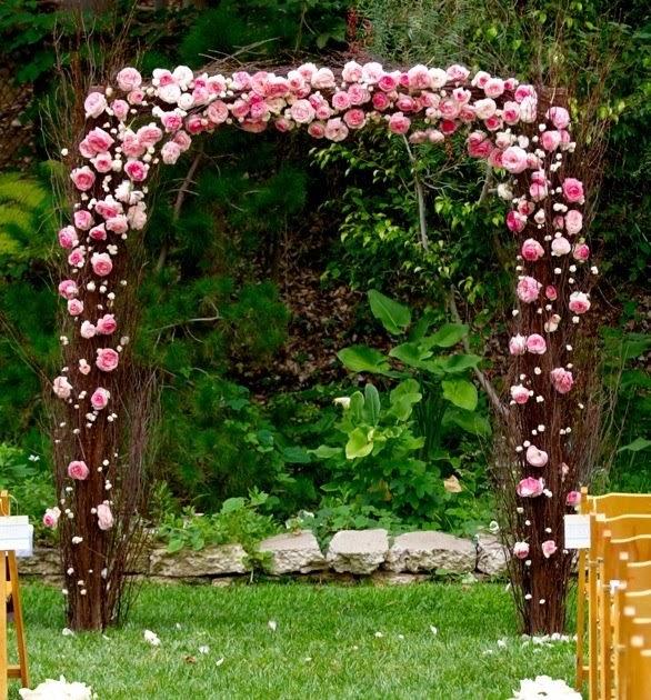 Wedding Altar Trellis: [The] Nettleton Hollow [Blog]: Birch Wedding Arch
