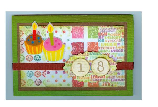 Tarjeta cumpleaños scrapBook - Imagui