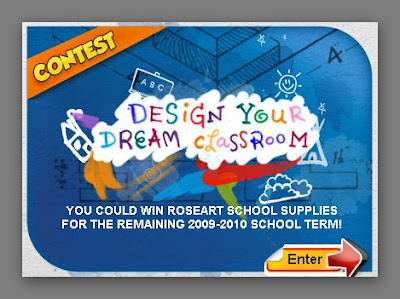 RoseArt Design Your Dream Classroom Contest