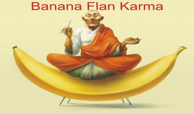 Banana Flan Karma
