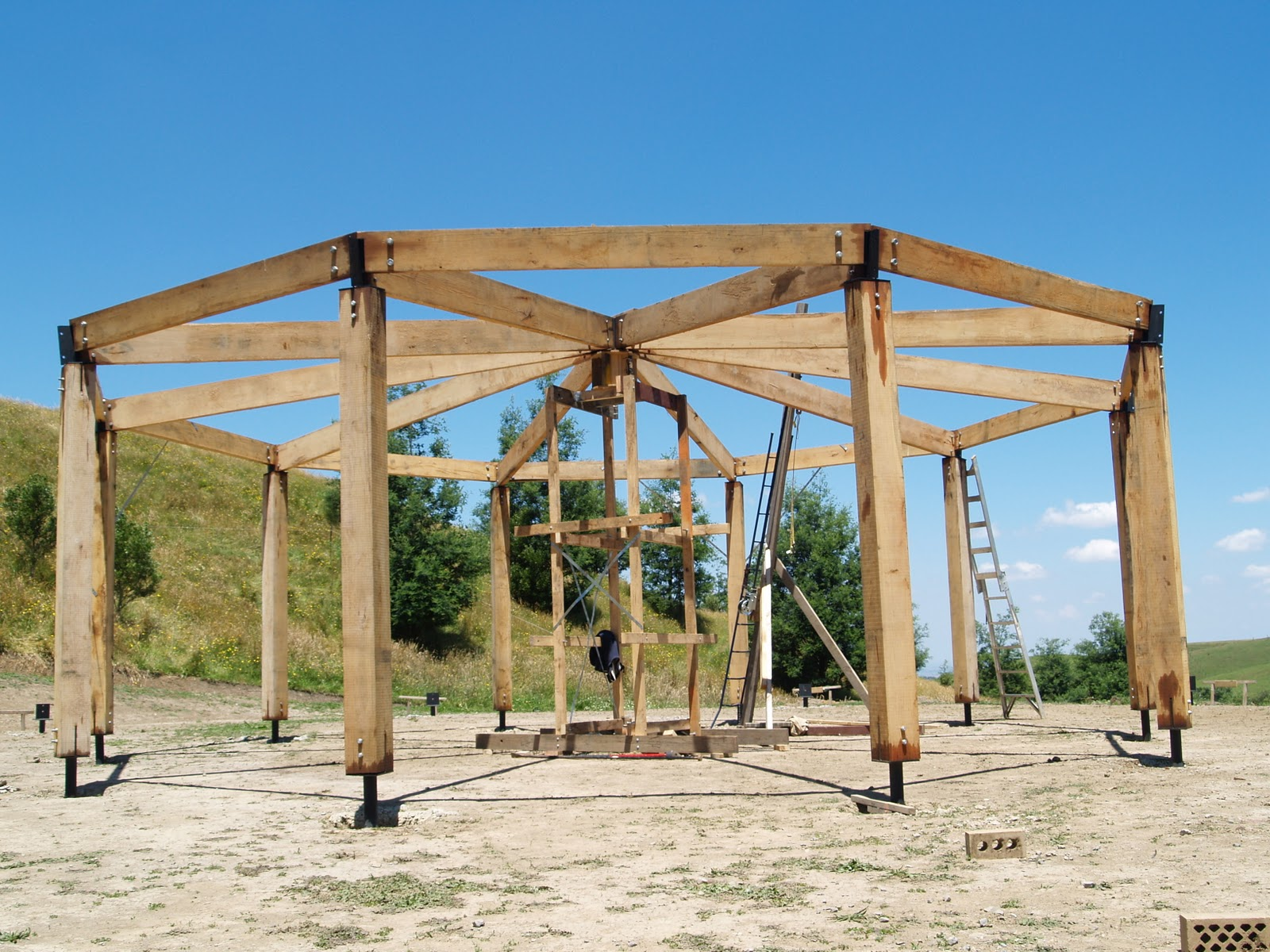 Building A Timber Frame House Yourself