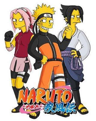Los Simpson Naruto