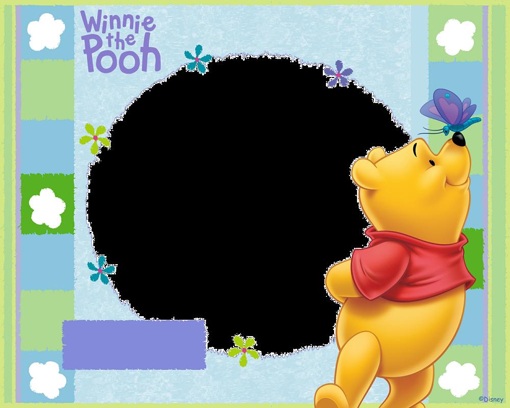 Marcos para fotos infantiles - Winnie The Pooh