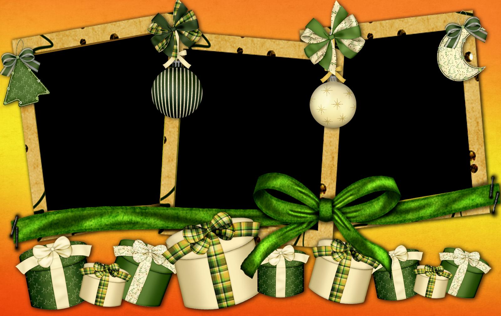 Fondos De Pantalla y Mucho Más: Marcos para fotos de Navidad