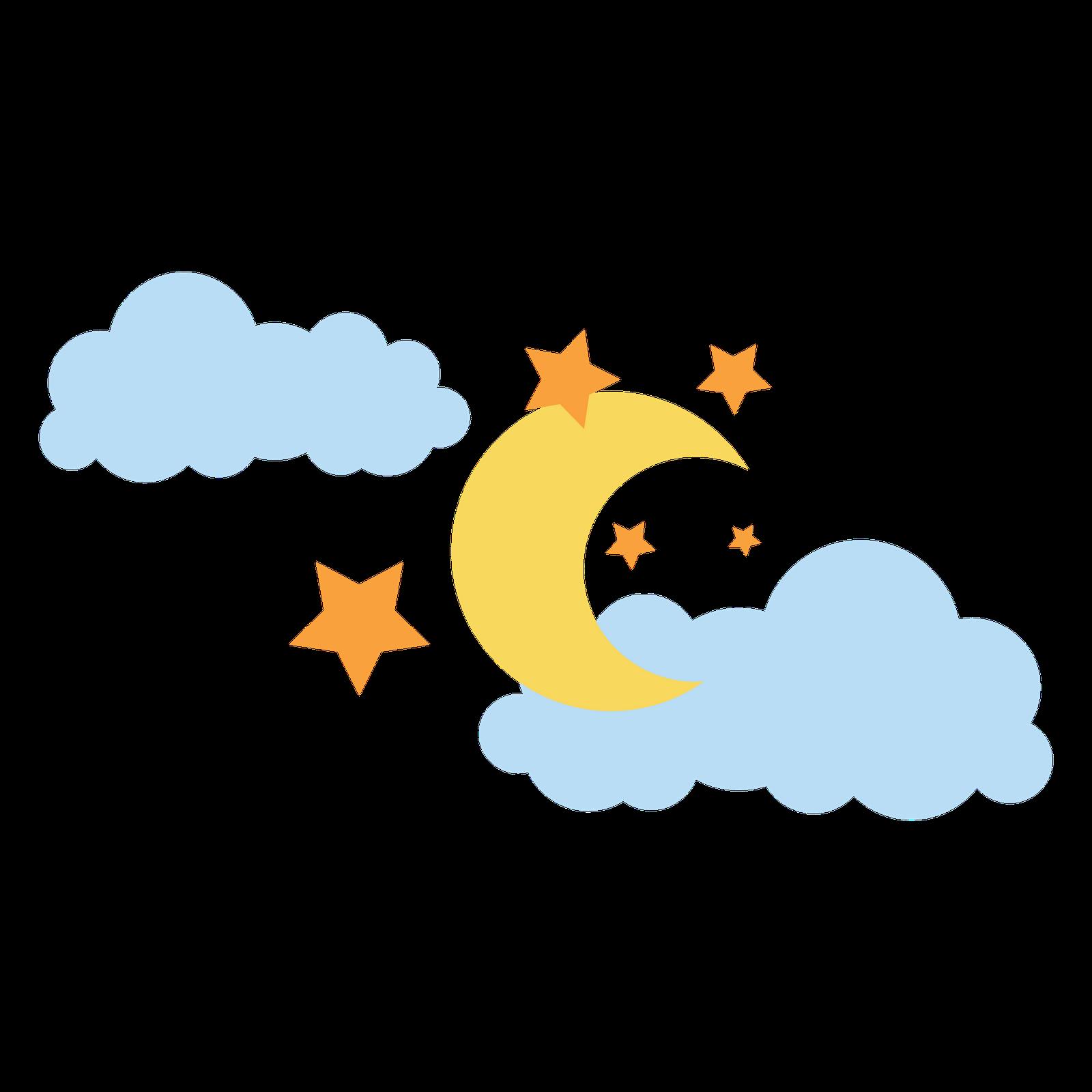 Luna y estrellas animadas - Imagui
