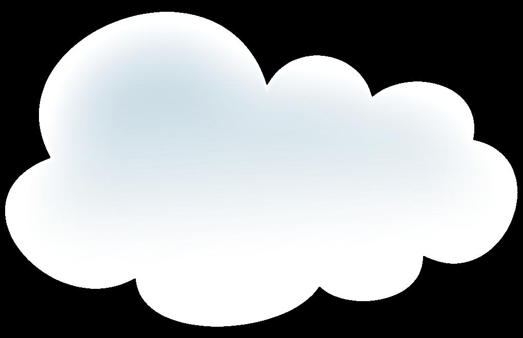 Recursos infantiles nubes blancas png