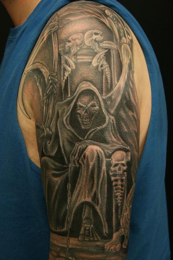 tattoos death tats
