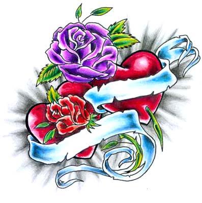 Tattoos: Roses # 3