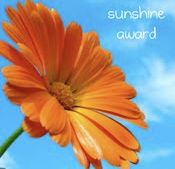 My Sunshine Award from S & O
