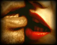 El beso...