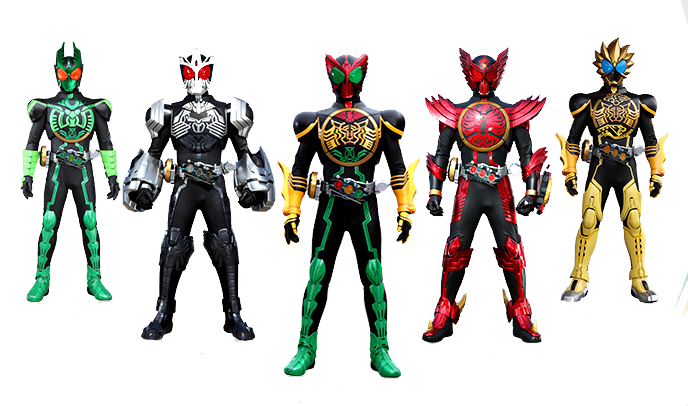 Kamen Rider Ooo. Kamen Rider Ooo.