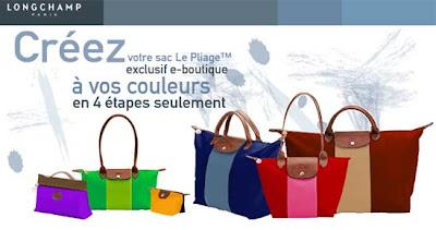 Longchamp Tamaños