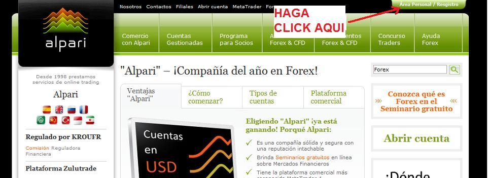 Cuenta demo forex