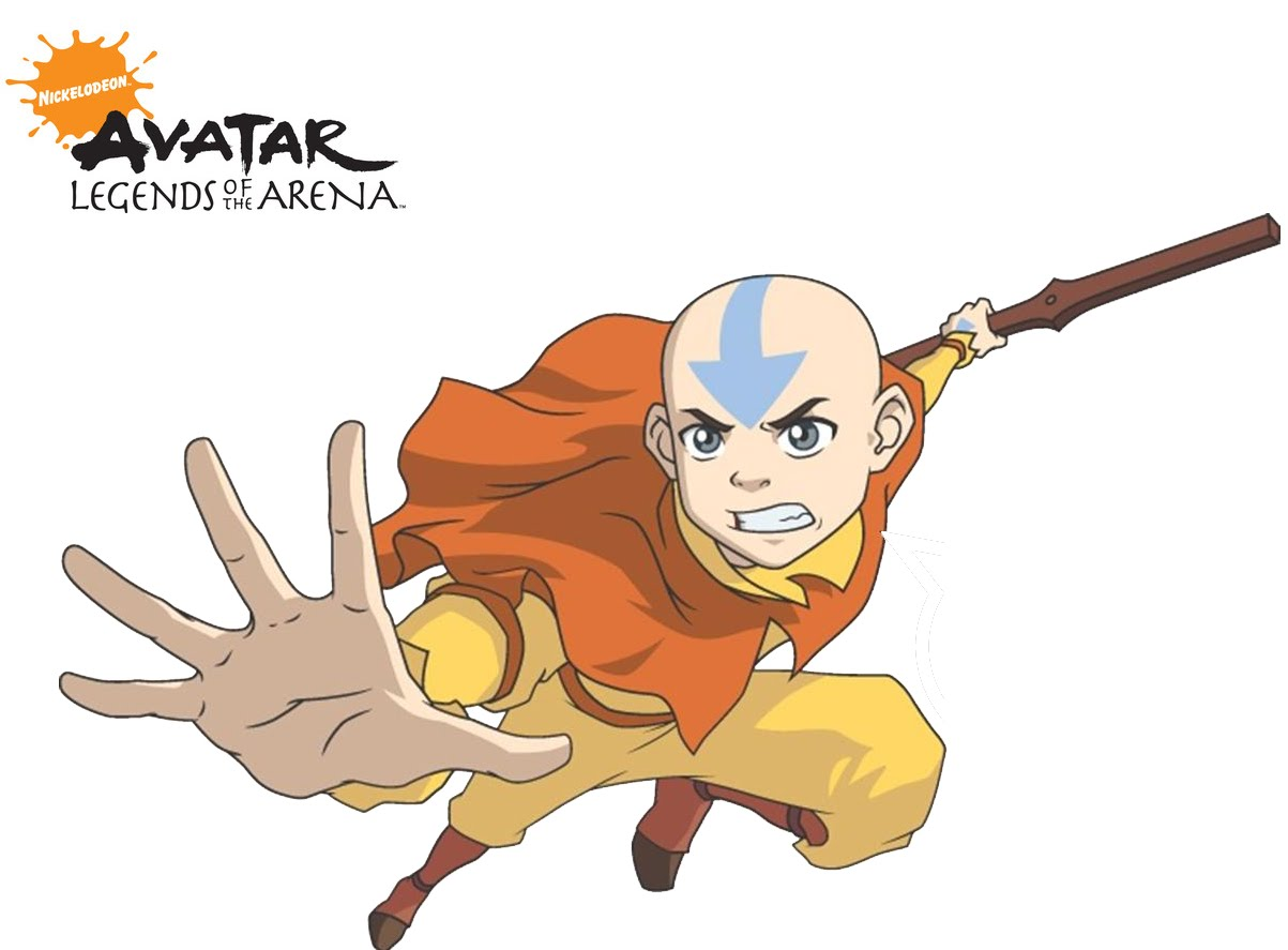 Acima é Do Aang Anime Avatar The Legend Of Da Nickelodeon O