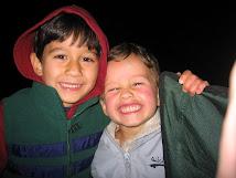 Jack & Ben at Bolsa Chica Beach